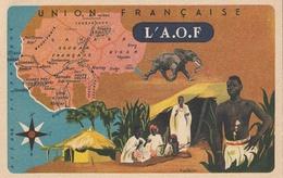 Afrique Occidentale Française - Collection L'UNION FRANCAISE - Images Des Produits LION NOIR - - Other