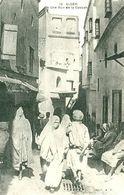 Cpa ALGERIE - ALGER - UNE RUE DE LA CASBAH  BB-640 - Alger