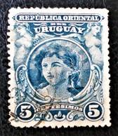 FEMME 1900 - OBLITERE - YT 154 - MI 151b - Uruguay