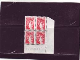 N° 2102 - 1,40F SABINE - 9° Tirage Du 6.1.81 Au 13.2.81 - 18.02.1981 - (RGR1) - Dernier Jour - - 1970-1979