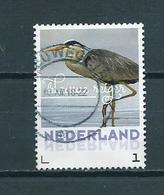 Netherlands Birds,oiseaux,vögel,blauwe Reiger Used/gebruikt/oblitere - Period 2013-... (Willem-Alexander)