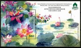Hong Kong 2018 / Flowers Bees MNH Blumen Flores Abejas Fleurs / Cu12409  41 - Sin Clasificación