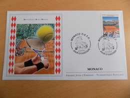 FDC MONACO 2012 : Monté Carlo Rolex Masters De Tennis (timbre De 0.89 Euro) - FDC