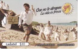 TARJETA DE MEXICO DE CERVEZA SOL  (BEER) - Publicidad