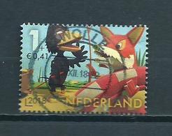 2018 Netherlands Child Welfare,kinderzegel,Fabeltjeskrant Used/gebruikt/oblitere - Period 2013-... (Willem-Alexander)