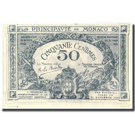 Billet, Monaco, 50 Centimes, 1920, 1920, KM:3a, NEUF - Monaco