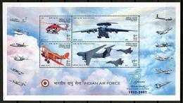 India 2007 / Aviation Airplanes Helicopter MNH Aviacion Aviones Helicóptero Luftfahrt / Cu12420  33 - Aviones