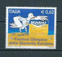 2005 Italy Festival Olimpico Used/gebruikt/oblitere - 6. 1946-.. Republic