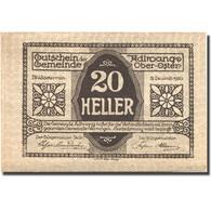 Billet, Autriche, Aldwang, 20 Heller, Village, 1920, 1920-12-31, SPL, Mehl:FS 5a - Austria