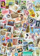 LOT 1200 TIMBRES DU MONDE, Tous Différents, Oblitérés. - Stamps