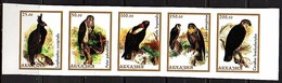 Falcon MNH Strip Of 5 Imperforated (which Country?) MNH (r202) - Aigles & Rapaces Diurnes