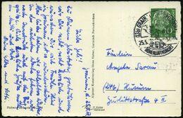 (13 B) GRAINAU ZUGSPITZDORF/ HÖHENLUFTKURORT 1957/62 HWSt (Kirche Vor Bergen) Mit PLGZ Und Aptiert = PLGZ Entfernt! Je K - Postzegels