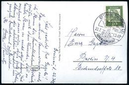 GRAINAU (ZUGSPITZDORF)/ HÖHENLUFTKURORT 1962 (22.7.) Aptierter HWSt = Alte PLGZ Entfernt (Kirche Vor Alpenmassiv) Bedarf - Postzegels