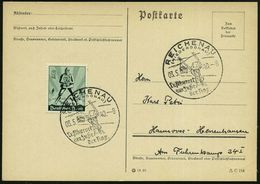 REICHENAU/ (NIEDERDONAU)/ Luftkurort/ Am Fuße/ Der Rax 1940 (Mai) Seltener HWSt = Rax-Seilbahn U. Pylon , Klar Gest. Inl - Postzegels