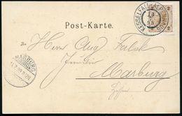 ÖSTERREICH 1899 (19.7.) 2K: KESSELFALL-ALPENHAUS = Hauspostamt Alpinisten U. Wanderer-Schutzhaus , Klar Gest S/w.-Foto-A - Postzegels