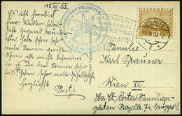 ÖSTERREICH 1932 (17.3.) FaWSt: EBENSEE/*g*/HÖLLENGEBIRGS-/SCHWEBEBAHN/..FEUERKOGEL + Hütten-HdN (D.& Österr. Alpenverein - Briefmarken