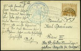 ÖSTERREICH 1932 (17.3.) FaWSt: EBENSEE/*g*/HÖLLENGEBIRGS-/SCHWEBEBAHN/..FEUERKOGEL + Hütten-HdN (D.& Österr. Alpenverein - Postzegels