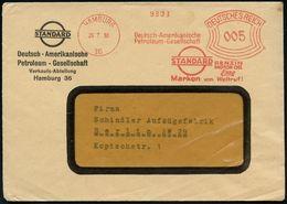HAMBURG/ 36Deutsch-Amerikanische/ Petroleum-Gesellschaft/ STANDARD/ BENZIN/ MOTOR OEL/ Esso.. 1933 (28.7.) AFS (Logo) Au - Geschiedenis