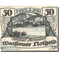 Billet, Autriche, Mitter Arnsdorf, 50Heller Paysage, 1920 SPL  Mehl:FS 1122.6IIa - Austria