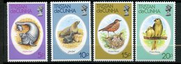 Tristan Da Cunha, Yvert 252/255, Scott 251/254, MNH - Tristan Da Cunha