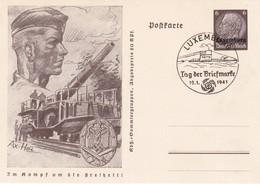 ALLEMAGNE 1941   ENTIER POSTAL/GANZSACHE/POSTAL STATIONERY CARTE DE LUXEMBURG TAG DER BRIEFMARKE - Ganzsachen