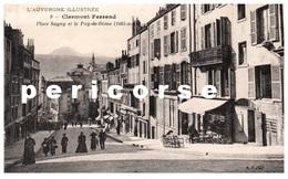 63  Clermont Ferrand  Café  Place Sugny - Clermont Ferrand