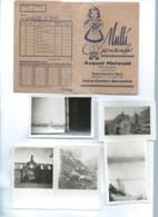 Une Pochette August Maiwald Niederlahnstein/rhein Sontenant 8 Photos Et 10 Negatifs  Bpho14 - Albums & Collections