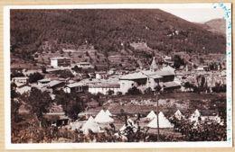 X06195 Peu Commun SOSPEL Tentes Camps Militaires Vue Générale 1er Janvier 1947 Photo-Bromure Edition FRANK - Sospel