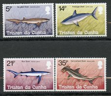 Tristan Da Cunha, Yvert 302/305, Scott 302/305, MNH - Tristan Da Cunha