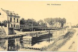 Hal NA17: Pont Brantlant ( Péniche ) - Halle