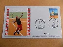 FDC MONACO 2013 : Monté Carlo Rolex Masters De Tennis (timbre De 1.05 Euro) - FDC