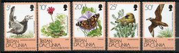 Tristan Da Cunha, Yvert 394/398, Scott 399/402, MNH - Tristan Da Cunha