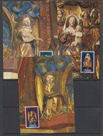 Liechtenstein 1982 Christmas 3v 3 Maxicards  (42780) - Maximumkaarten