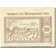 Billet, Autriche, Kilb, 20 Heller, Château 1920-12-31, SPL Mehl:FS 437IIIc - Austria