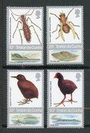 Tristan Da Cunha, Yvert 399/402, Scott 404/407, MNH - Tristan Da Cunha