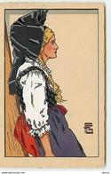 Alsace Par G. GEO-FOURRIER - N°5 Jeune Fille De Mietesheim (vendu En L'état) - Fourrier, G.