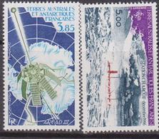 TAAF Terre Australes Antarctiques Françaises: 1981 Charcot / Satellite Set MNH - Terre Australi E Antartiche Francesi (TAAF)