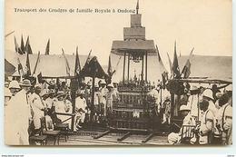 CAMBODGE - Transport Des Cendres De Famille Royale à Oudong - Cambodge