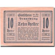 Billet, Autriche, Pennewang, 10 Heller, Village 1920-12-31, SPL Mehl:FS 727d - Austria