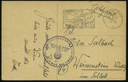 WIEN 101/ B(Jugend/ Aufs/ Meer! 1944 (23.5.) MWSt = Schnellboot + Viol. 1K-HdN: Kdr. D. Streifendienstes Groß-Wien.. , K - Geschiedenis
