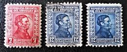 ARTIGAS 1932 - OBLITERES - YT 425 + 428 - Uruguay