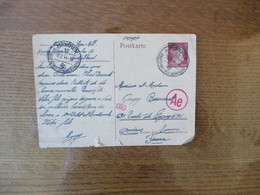 POSTKARTE MÜNCHEN HAUPTSTADT DER BEWEGUNG 15 2 44 - Documents
