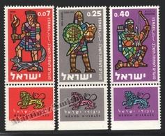 Israel 1961 Yv. 205-07, New Year – Tab - MNH - Israel