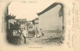 TONKIN  Yunnan  Rue De SIN-GAN-FOU       INDO,0114 - Vietnam