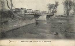 Pays Div -ref T648- Guerre 1914-18 - Macedoine - Armenheor - Ponts - Pont Sur La Sekuliva - - Macédoine