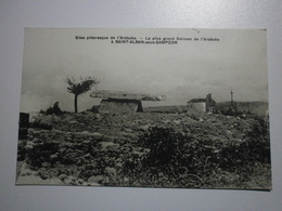 07 Saint Alban Sous Sampzon, Le Plus Grand Dolmen De L'Ardèche (A8p48) - France