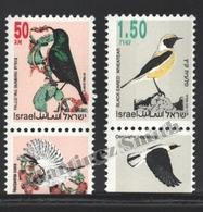 Israel 1993 Yv. 1202-03, Definitive Set, Birds – Tab - MNH - Israel