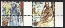Israel 1999 Yv. 1438-39, Traditional Costumes – Tab - MNH - Israel