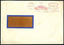 CELLE 1/ FAUST/ GUTENBERG/ SCHOEFFLER/ CHR.HOSTMANN/ STEINBERG'SCHE FARBENFABRIKEN 1933 (26.10.) Gesuchter, Dekorat. AFS - Andere