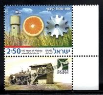 Israel 2010  Yv. 2028, Kibboutz Centenary – Tab - MNH - Israel